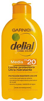Delial Garnier Leche Protectora F-20 Delial 200 ml