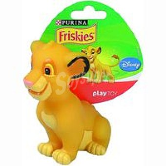Friskies Purina Perro juguete Dinsey Simba Pack 1 unid