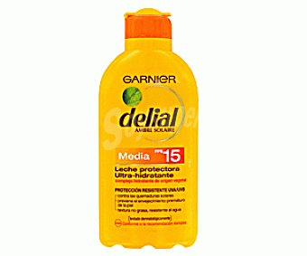 Delial Garnier Leche Solar Factor de Protección 15 200ml