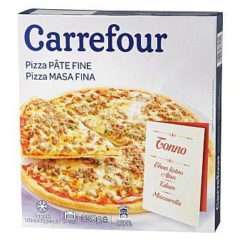 Carrefour Pizza atún masa fina 355 g