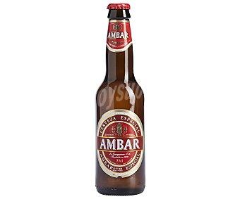 Ambar Cerveza para celiacos Botella de 33 centilítros
