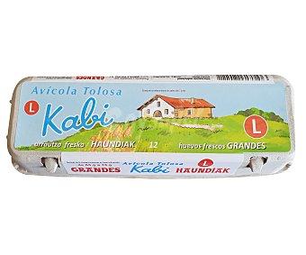 Kabi Huevos frescos de categoria A y clase L 12 uds