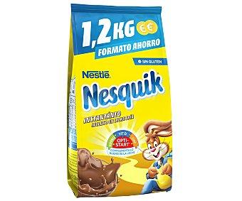 Nesquik Nestlé Cacao soluble Bolsa 1,2 kg