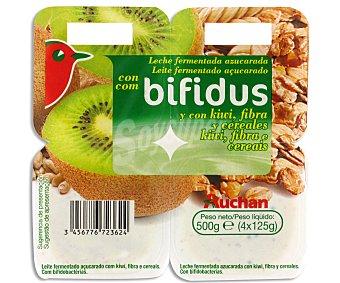 Auchan Cereales de fibra 500 gr