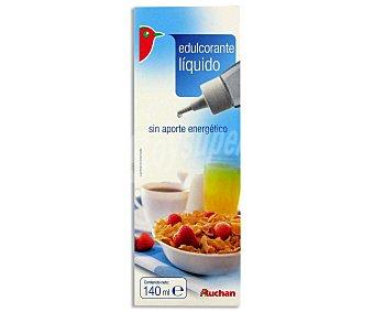 Auchan Edulcorante Líquido 140 Mililitros