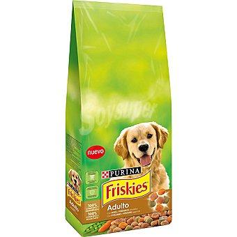 Friskies Purina Alimento completo para perro con ave y verduras Adulto Bolsa de 15 kg