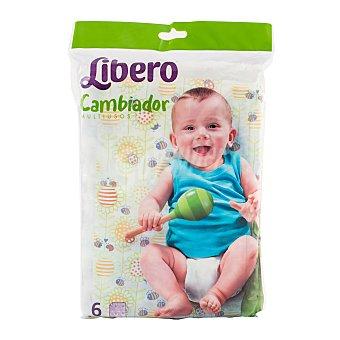 Libero Cambiador bebe desechable * Paquete 6 u