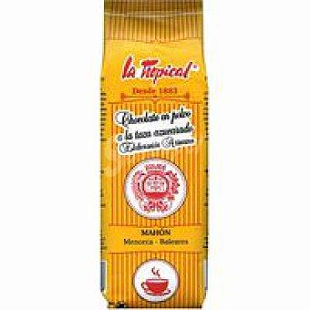 La Tropical Chocolate en polvo a la taza Paquete 250 g