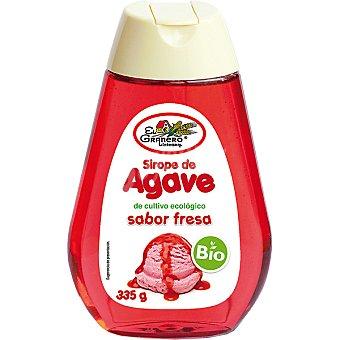 Biogran el granero Sirope de ágave sabor fresa ecológico Envase 335 g