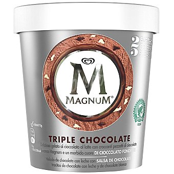 Frigo Magnum Tarrina helado Triple chocolate 450ml