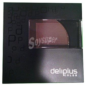 DELIPLUS SOMBRA OJOS Nº7 MARRON CHOCOLATE LUMINOSO 1 Unidad