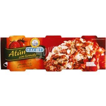 BACHI Atún con tomate Pack 3x80 g