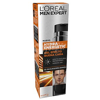 L'Oréal Gel fluido efecto natural buena cara hyndra energetic Men Espert 50 ml