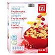 Cereales copos de arroz y trigo integral con frutos rojos paquete 300gr Paquete 300gr DIA
