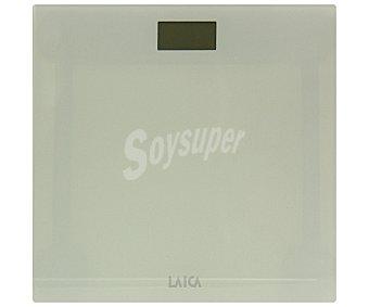 Laica Báscula electrónica para baño, modelo PS1048, color blanco 1 Unidad