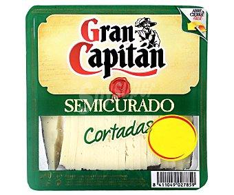 Gran Capitán Queso Semicurado en Cuña Cortado Gran Capitán 230 gr