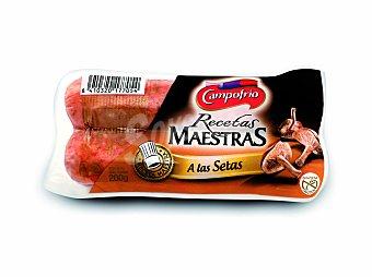 Campofrío Salchichas a las setas recetas 200 g