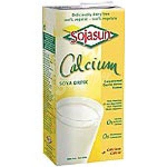 Sojasun Bebida de soja con calcio 100% vegetal Envase 1 l