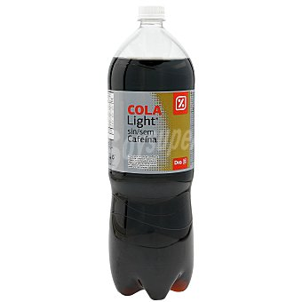 DIA Refresco de cola light sin cafeina botella 2 lt Botella 2 lt