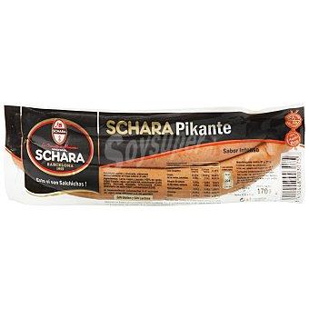 Michael Schara Salchicha Frankfurt Picante Paquete 170gr (2 unidades)