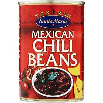 SANTA MARIA frijoles con chile lata 410 g