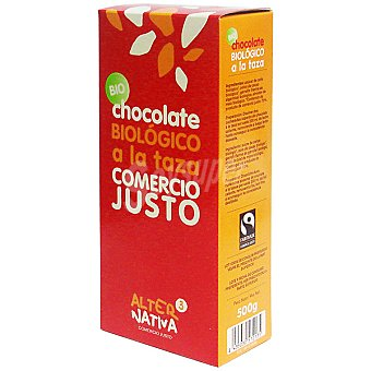 ALTERNATIVA 3 Chocolate ecologico a la taza Estuche 500 g