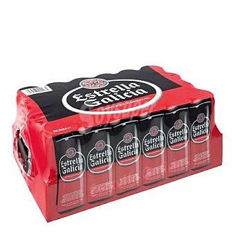 Estrella Galicia Cerveza Especial 24 latas de 33cl
