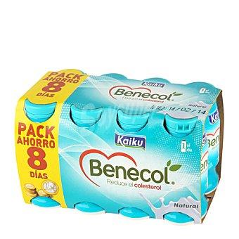 Kaiku Benecol para beber natural Pack 8x65 ml
