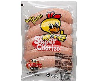 Cuatro Ríos Chorizo parrillero (criollo), elaborado con carne de pollo y sin gluten 500 g