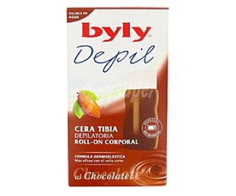 Byly Cera Tibia en Roll-On l Chocolate 125ml