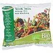 Wok mix menestra de verduras con pimientos zanahoria brécol cebolla y judías verdes  bolsa 600 g ARDO