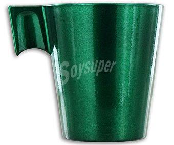 LUMINARC Taza para expresso modelo Flashy, con capacidad de 8 centilitros y de color verde 1 Unidad