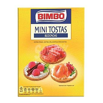 Bimbo Mini Tostas redondas extrafinas 100 g