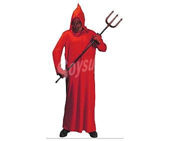 WIDMANN Disfraz infantil Diablo túnica roja, talla 5-7 años Diablo 5-7 años