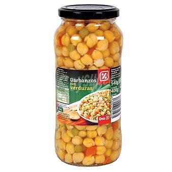 DIA Garbanzos con verduras Frasco 450 gr