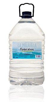 Fontecabras Agua mineral natural Garrafa de 8 litros