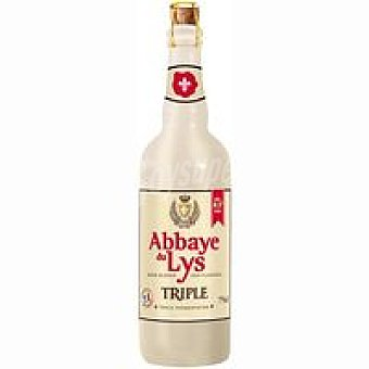 ABBAYE DU LYS TRIPLE Cerveza Botella 75 cl