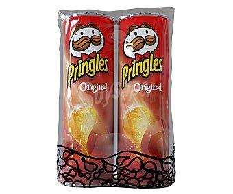 Pringles Aperitivo tejas pack 2 x 165 gramos