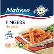 Finger de pollo con pechuga entera sin gluten Bolsa 300 g Maheso