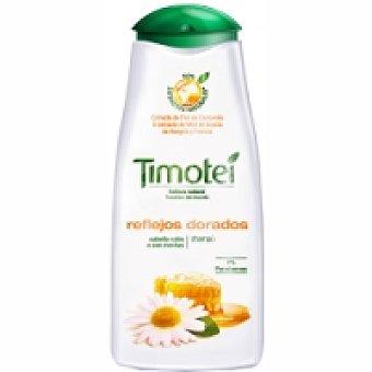 Timotei Champú Camomila Reflejos Dorados cabello rubio/castaño claro Bote de 400 ml