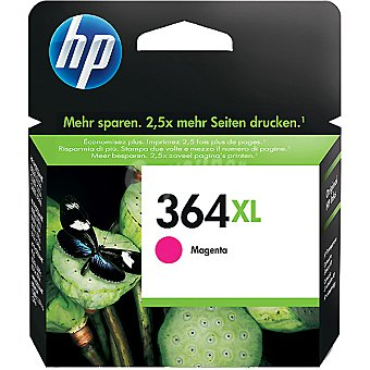 HP Nº364 XL cartucho color magenta