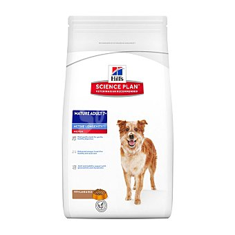 Hill's Science Plan Pienso para perros adultos y senior +7 Hills Science Plan Active Longevity cordero y arroz 3 Kg