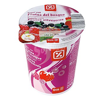 DIA Yogur con frutas del bosque Envase 200 g