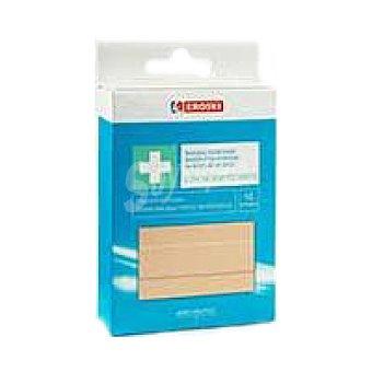Eroski Bandas adhesivas de plàstico+desinfect. Pack 10 unid