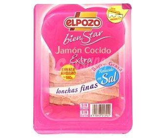 ElPozo Jamon cocido b/g r/sal tp lfs 180G