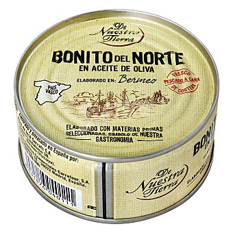 De nuestra tierra Bonito del Norte en aceite de oliva 85 g