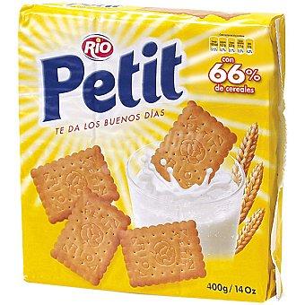 RIO PETIT Galletas de desayuno con 66% de cereales Estuche 400 g