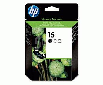 HP Cartuchos de Tinta 15 Negro 1 Unidad