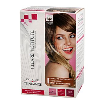 Color Clinuance Kit mechas Californianas base Rubio Oscuro 1 ud