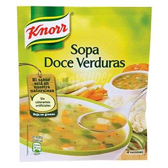 Knorr Sopa 12 verduras Sobre 41 g